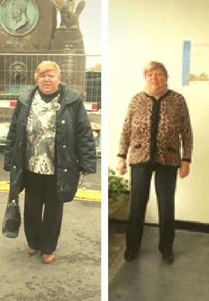 povești de succes cu pierderea în greutate a metrelor