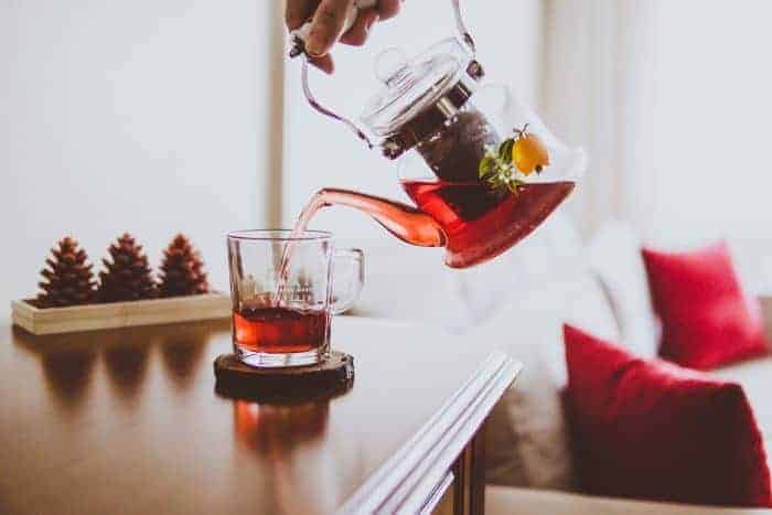 publicitate de ceai de slăbire)