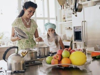 Bucătăria - ajutor în slăbire